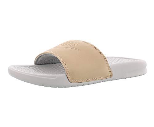 Nike Women's Benassi Just Do It Synthetic Sandal (9 M US, Vachetta Tan/Vachetta Tan)