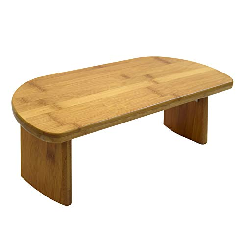 Bean Products Bamboo Meditation Kneeling Bench - Best Design - Folding Legs - Portable - Ergonomic