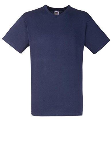 Fruit of the Loom - T-shirt - Homme - Bleu - Deep Navy - X-large