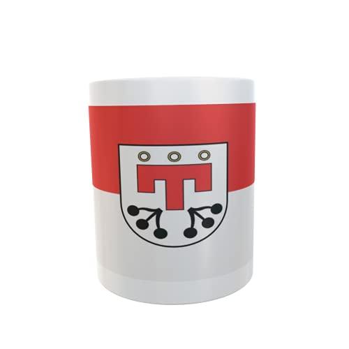U24 Tasse Kaffeebecher Mug Cup Flagge Kressbronn am Bodensee