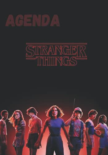 Agenda Stranger Things: Agenda scolaire 2021 - 2022 Stranger Things pour Garçon / Fille | Étudiant(e) Pour Collège Lycée ... |