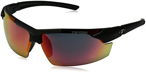 Tifosi Unisex-Adult Jet Fc Sunglasses, Matte Black, Regular