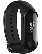 braccialetto Xiaomi MI Band 3, schermo Touch OLED da 0.78pollici, monitor Battito cardiaco Tracker esercizi, sveglia, Reminder di chiamata di Smartphone iPhone Android