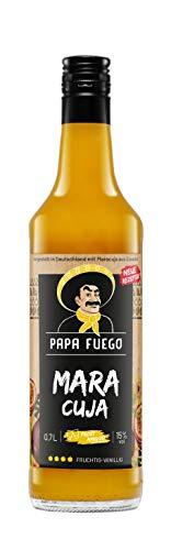 Papa Fuego Maracuja (1 x 0.7 l) | Fruchtiger Maracuja-Likör