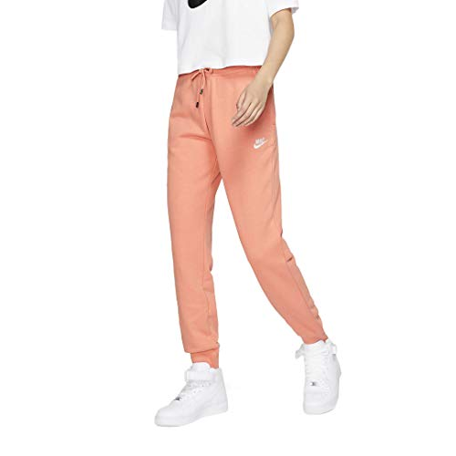 NIKE Sportswear BV4095-606 Essential - Pantalones de Forro Polar para Mujer (Talla L, Talla XXL), Color Negro