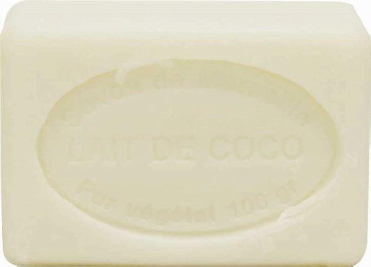 慢性的凍る雷雨ル?シャトゥラール ソープ 100g ココナッツミルク SAVON 100