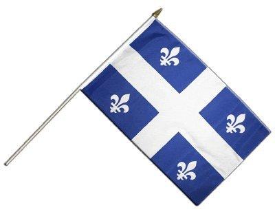 Digni® Drapeau Canada Quebec sur hampe