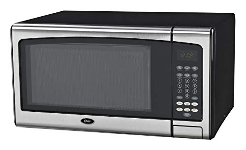 Oster OGSMJ411S2-10 1.1 cu. Ft. Microwave Oven, Stainless Steel