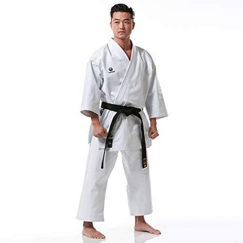 Tokaido Unisex– Erwachsene Kata Master Karateanzug, weiß, 170 (4,0)