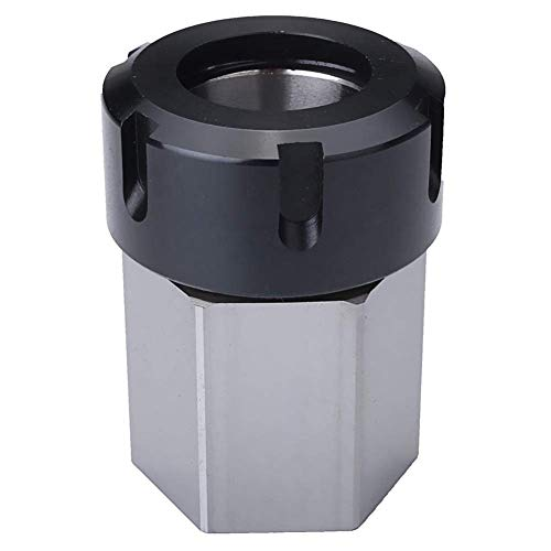 Affordable YF-Chen Lathe Accessories Hard Steel Hex ER-32 Collet Chuck Block CNC Lathe Tool Holder M...