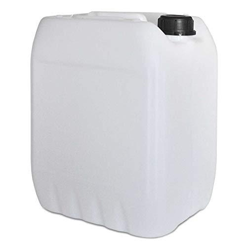Premium Kanister 10L / natur aus HDPE/mit Schraubverschluss