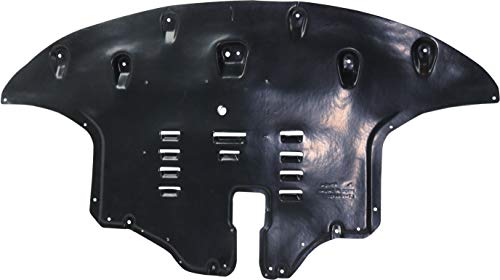 Evan-Fischer Engine Splash Shield Compatible With 2016-2019 Kia Sorento Engine under cover; Vacuum Form; With Aluminum Pad