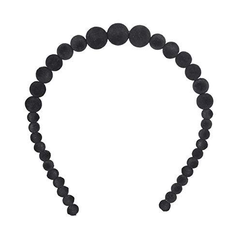 Turbantes Headband Diademas para Mujer Turbantes Nueva Diadema De Lujo con Perlas Grandes para Mujer, Diadema De Moda Co