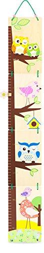 Toise en bois peint HIBOU - Ulysse