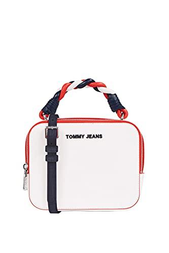 Tommy Hilfiger Damen Handtasche Tasche TJW Femme PU Crossover Weiß