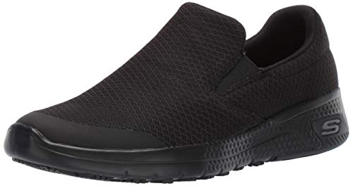 Skechers womens Marsing Health Care Professional Shoe, Black, 8.5 US
