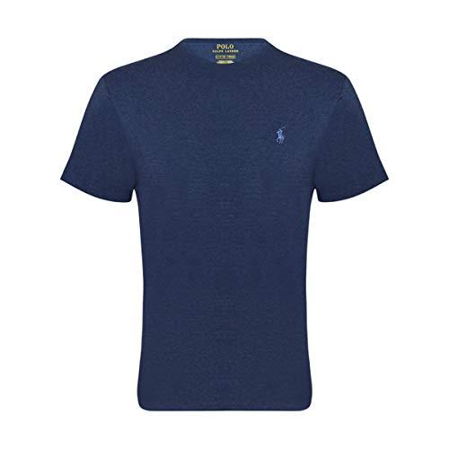 RALPH LAUREN Men's Pony Logo T-Shirt (Small  Spring Navy)