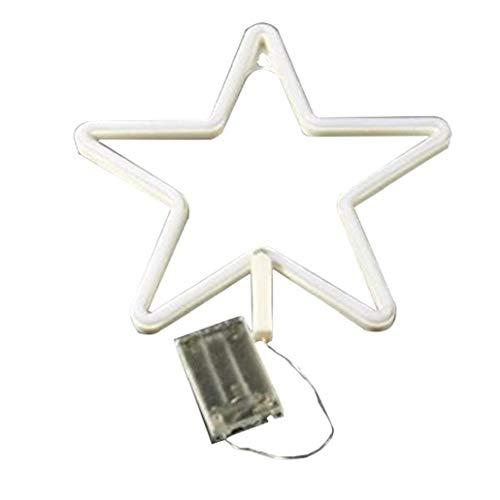 lujiaoshout Muestra de neón del Arte romántico USB del LED de la Estrella de la lámpara Decorativa de la Noche para el Dormitorio de Estar Pared del Sitio de la Fiesta en casa