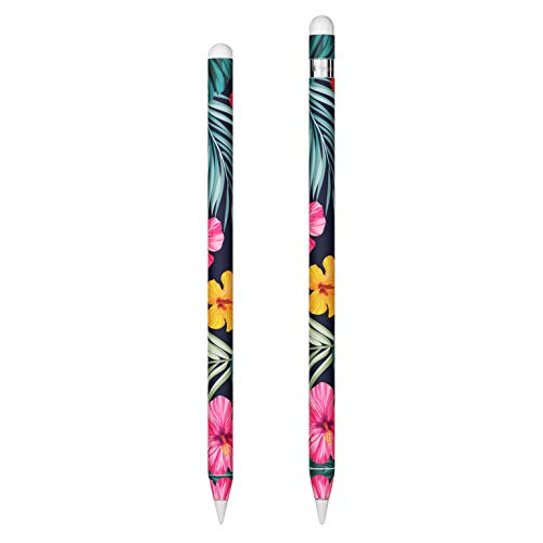 Tropical Hibiscus Apple Pencil Sticker for 1st and 2nd Generation - Ultra Thin Protective Skin Cover