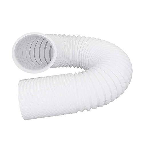 YDONGIIU Klimatisierungskanal, 4-6 '' Kunststoffschlauchleitung PVC-Kanal - Flexibler Abgasröhre Stahl Weißröhre Für Inline-Lüfter Home Belüftung Luftfrisches System (Size : Dia.130mm 2m)