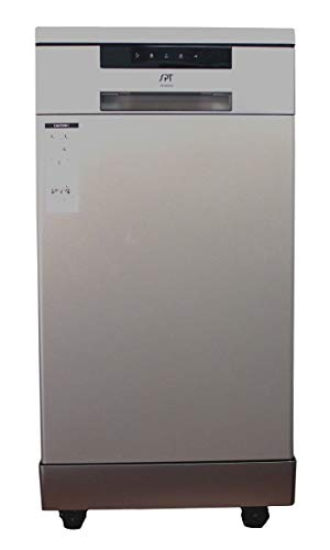 SPT SD-9263SS 18″ Energy Star Portable Dishwasher – Stainless Steel