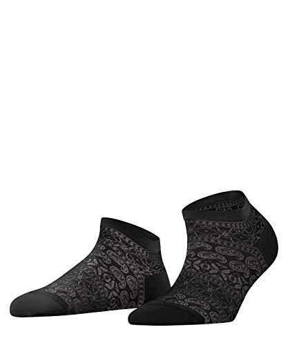 FALKE Damen Cultural Mix Sneakersocken, schwarz (Black 3000), 37-38