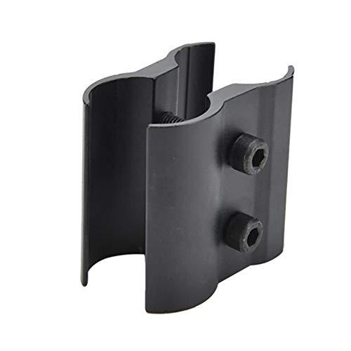 WENQUAN-AC, Pistola de Caza Anillo táctico Barril Alcance Telescopio Mirilla Soporte de Montaje Linterna Antorcha Laser Sight (Color : Black)