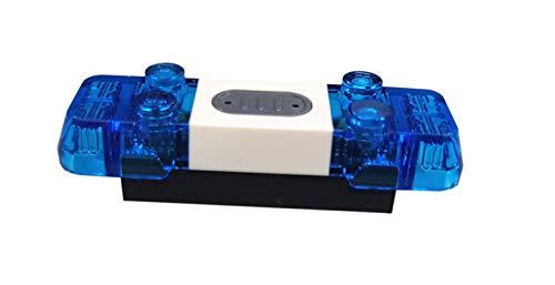 LEGO Blaulicht Einzelteil Electric Ersatzteil Licht und Sound Sirene 2x6x1
