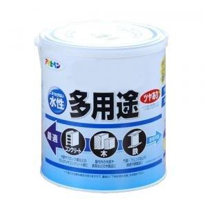アサヒペン 水性多用途 ツヤあり ツヤ消し 白 1.6L