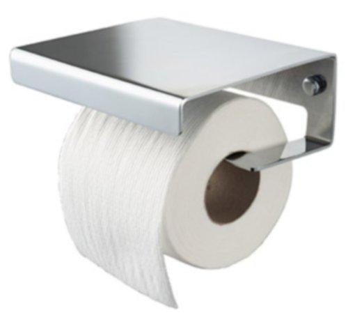 Haceka Toilettenpapier-Halter mit Deckel Chrom Dude 406015