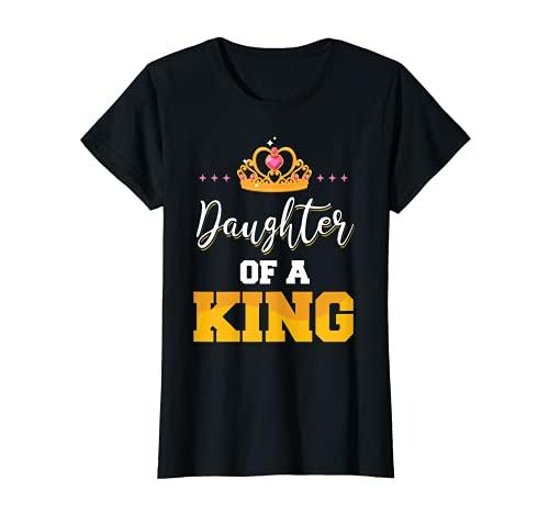 Hija de un rey padre e hija coincidencia Camiseta