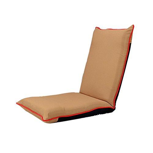 L-R-S-F Canapé paresseux, canapé paresseux pliant, chaise à dossier sans lit simple à jambes, chaise longue de salon à baie vitrée, chaise à tissu d'ordinateur (Couleur : # 2)