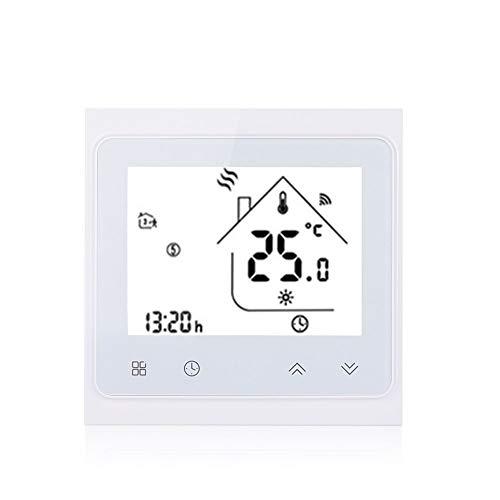 mingxiao Termostato De WiFi 16A Controlador De Temperatura De WiFi Eléctrico Digital Calefacción Alexa Google Home