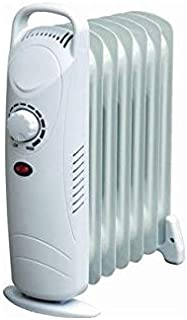 elitezotec - Mini radiador de Aceite con termostato de Invierno Ajustable (850 W)