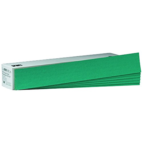 """3M 02220 Green Corps 2-3/4"""" x 17-1/2"""" 80D Grit Production Resin Sheet"""