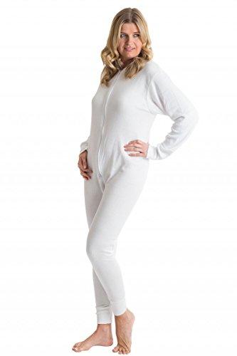 Octave® sous-vêtement Thermique Union Tout en Un Femme/Body Thermique M Blanc