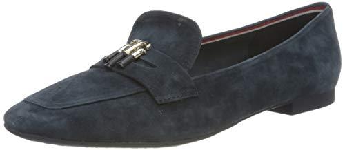 Tommy Hilfiger Damen Essential Hardware Loafer Slipper, Wüstenhimmel, 40.5 EU
