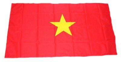 Fahne/Stockflagge Vietnam 30 x 45 cm Flagge