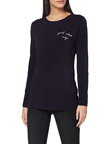 ESPRIT Maternity Damen ls T-Shirt, Night Sky Blue-485, S