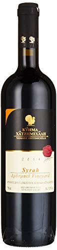 Domaine Hatzimichalis 2014 Syrah Drisbay Griechischer Trockener Rotwein 750ml