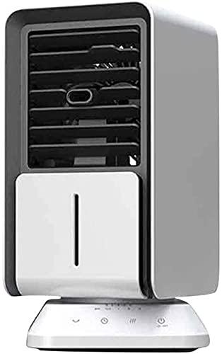 TXXM Pequeña unidad de aire acondicionado portátil Mini enfriador de aire portátil oficina multifunción USB ventilador de aire acondicionado ventilador extraíble