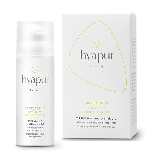 hyapur® - GREEN Tagescreme 50ml - Die natürliche Tagespflege mit Hyaluron und Aloe Vera zur...