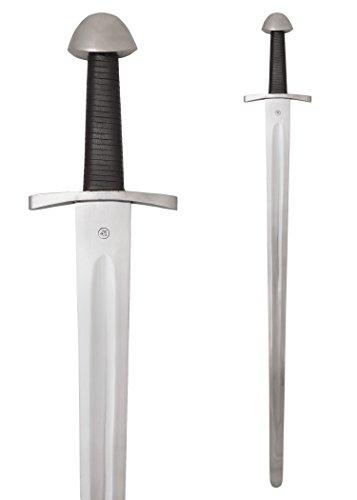 Ulfberth Schwert Normannischer Einhänder, Schaukampfschwert SK-B Echt von Hand geschmiedet - Metall Wikinger
