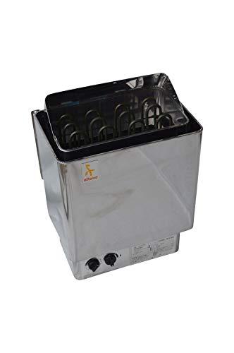 Saunaofen 9 kW Edelstahl mit integrierter Steuerung