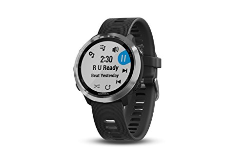 Garmin Forerunner 645 Music, GPS Running Watch with Pay Contactless Payments, Wrist-Based Heart Rate and Music, Black