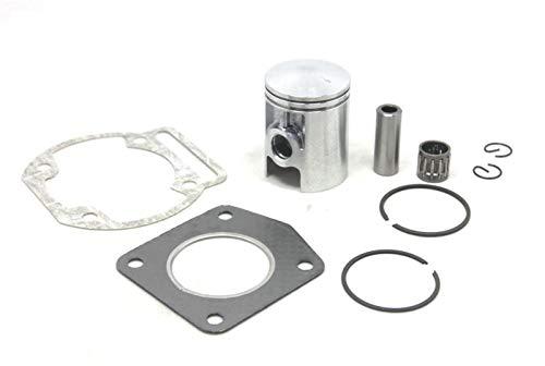 XIOSOIAHOU Anillo de pistón Kit de Junta de rodamiento de Anillos de pistón de 12 mm de 12 mm for Morini 50 50cc for Mini Moto Dirt Bike Cross (Color : Piston Gasket Kit)