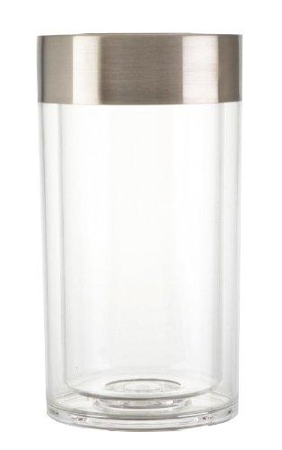 Zeller 27353 Weinkühler, ø 12 x 19,5 cm, Kunststoff / Edelstahl