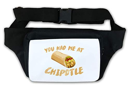 Mexican Burrito You Had Me at Waist Bag