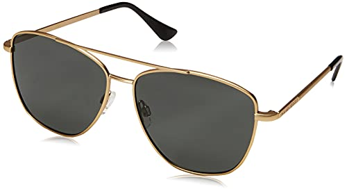 HAWKERS LAX Polarized Gafas de Sol, Dorado/Negro polarizado, One Size Unisex Adulto