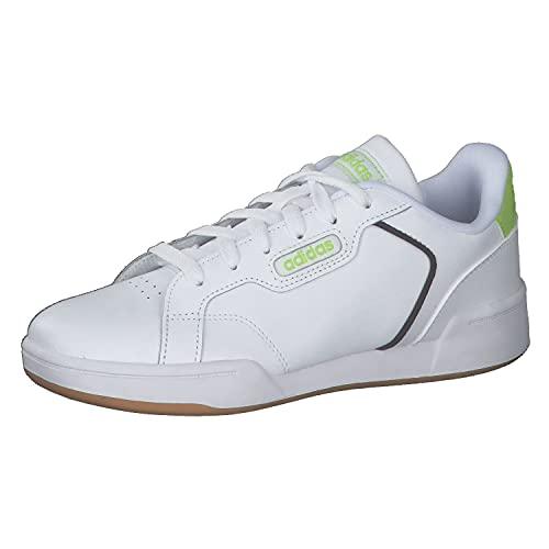 adidas ROGUERA J, Zapatillas de Running, FTWBLA/FTWBLA/Seliso, 38 EU